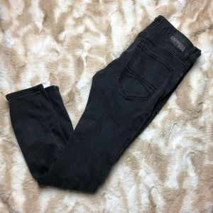 Express Jeans Men Skinny Leg 30x 30 Black Jeans